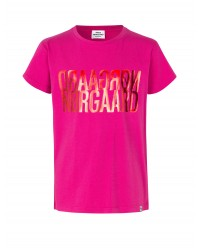 MADS NØRGAARD Jersey dip Tuvina Print Hot Pink-00