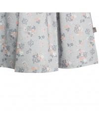 WHEAT Pinafore Wrinkles kjole Pearl blue flowers-00