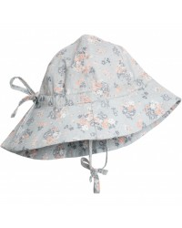 WHEAT Sommerhat Pearl Blue Flowers-00