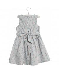 WHEAT Oda kjole Pearl blue flowers-00