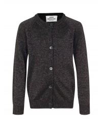 MADS NØRGAARD Wool Lurex Carmbino Glittery Black-00