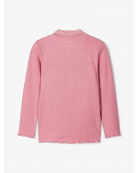 NAME IT Langærmet T-shirt Rosa-00