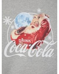 LMTD Sweat Coca Cola Dakota Grey melange-00