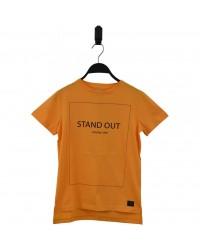 HOUND Lækker T-shirt med skriften STAND OUT orange-00