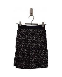 ADD TO BAG Blomstret, plisseret nederdel med bredt elastik-00