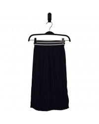 HOUND Lækkert plisseret skirt navy-00
