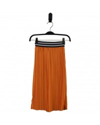 HOUND Lækkert plisseret skirt orange-00