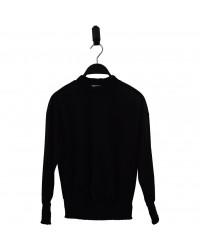 HOUND Bluse i transparent sort glimmer-00