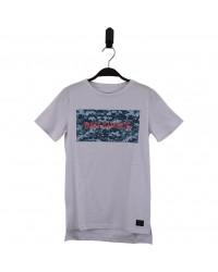 HOUND Lækker T-shirt med BAD CHOISE print hvid-00