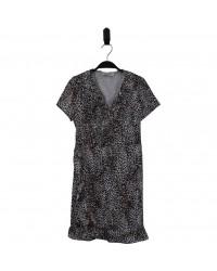 HOUND Leopard kjole med flotte detaljer-00