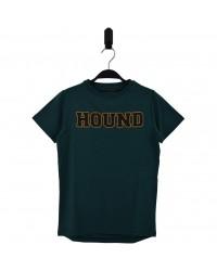 HOUND Lækker T-shirt med skriften HOUND grøn-00