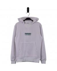HOUND Sej hoodie i flot fashion design hvid med grøn skrift-00