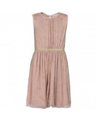 THE NEW ANNA KIM DRESS rose med guld-00