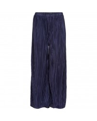 THE NEW Smukke plisse culotte pants KAYA navy-00