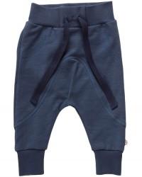 MÜSLI SLUB SWEAT PANTS MIDNIGHT BLUE-00