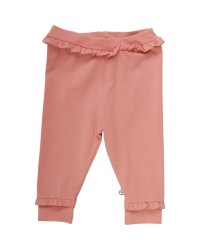 MÜSLI Cozy me frill pants dark peach-00