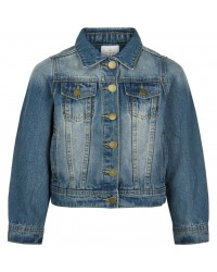 THE NEW DENIM JAKKE MED KNAPPER KARYN DENIM-00
