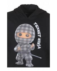 KIDS UP Ternet Ninja Trøje-00