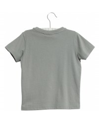 WHEAT T-shirt On The Road Lead Blue-00