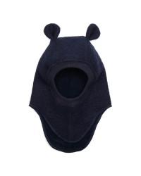 HUTTELIHUT Elefanthue Bomuld/uld Navy-00