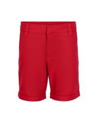 THE NEW Chino shorts med opslag Gustavo rød-00