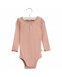 WHEAT Body rib Lace Misty Rose-00