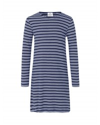 MADS NØRGAARD 2X2 Duo Stripe Darling Long Navy/White-00