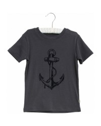 WHEAT T-shirt Flock Anchor Ink-00
