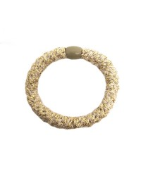 BOW´S BY STÆR Hairties Fluffy Beige/gold-00