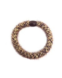 BOW´S BY STÆR Hairties Fluffy Brown/Gold-00