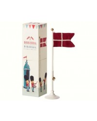 MAILEG Klassisk bordflag 25,5 cm højt-00