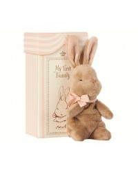 MAILEG My first bunny in box lyserød-00