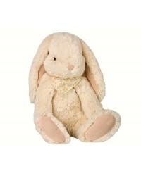 MAILEG Fluffy bunny large råhvid-00