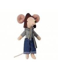 MAILEG Racer mouse, big brother-00