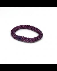 BOW´S BY STÆR Hairties Glitter Purple metalic-00