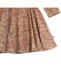 WHEAT Kristine kjole Caramel Flowers-00