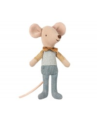MAILEG Little brother mouse in box-00