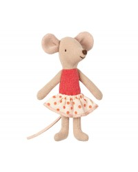 MAILEG Little sister mouse in box-00