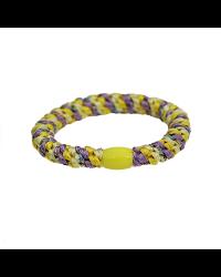 BOW´S BY STÆR Hairties Multi purple, yellow glitter-00
