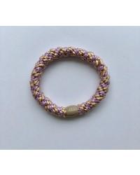 BOW´S BY STÆR Hairties Multi purple glitter/rosa-00