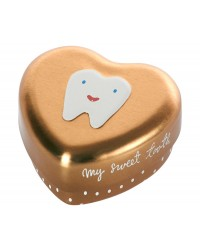 MAILEG My tooth box Guld-00