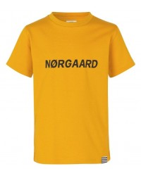 MADS NØRGAARD Printed Tee Thorlino Golden Yellow-00
