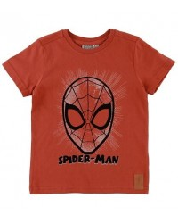 WHEAT T-shirt Spider face Paprika-00