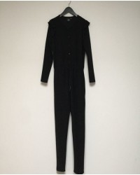 PETIT BY SOFIE SCHNOOR Jumpsuit i sort glimmer-00