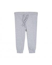 PETIT BY SOFIE SCHNOOR Leggings med elastik og bindebånd i taljen light grey melange-00