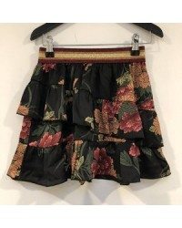 PETIT BY SOFIE SCHNOOR Skirt AOP Flow blk-00