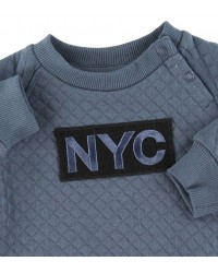 PETIT BY SOFIE SCHNOOR NYC Sweat Middle Blue-00
