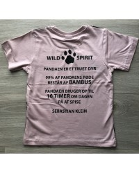 KIDS UP T-Shirt Panda SEBASTIAN KLEIN verdens skove-00