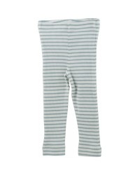 PETIT PIAO Striped Leggings mint green-00