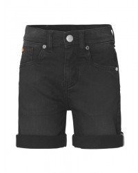 MADS NØRGAARD Jagino short Washed black-00